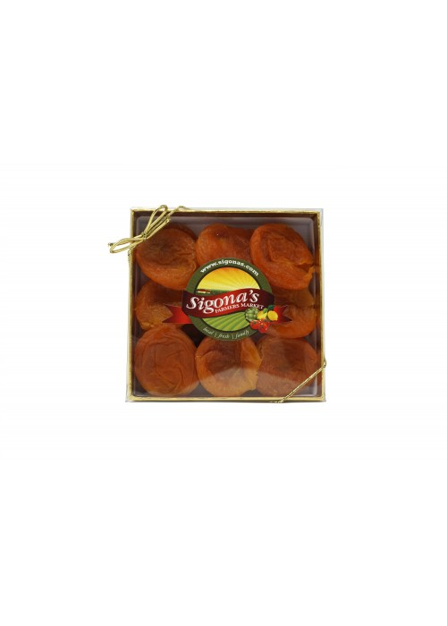Double Thick Indulgence Heirloom Slip Pit Apricots Gift Box