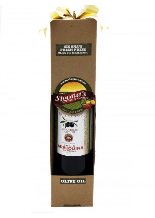 Organic California Arbequina Gift Box - 750 ML