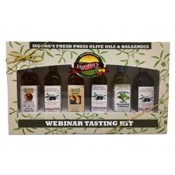 Olive Oil & Balsamic Webinar Tasting Kit