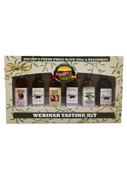 Olive Oil & Balsamic Webinar Tasting Kit