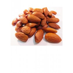 Roasted, No Salt Almonds, 6 oz