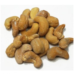 Dry Roasted, Salted Cashews, 6 oz.