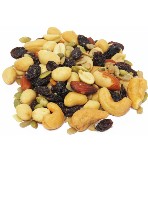 Deluxe Roasted Salted Trail Mix, 10 oz