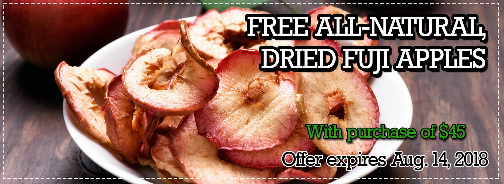Free Fuji apples