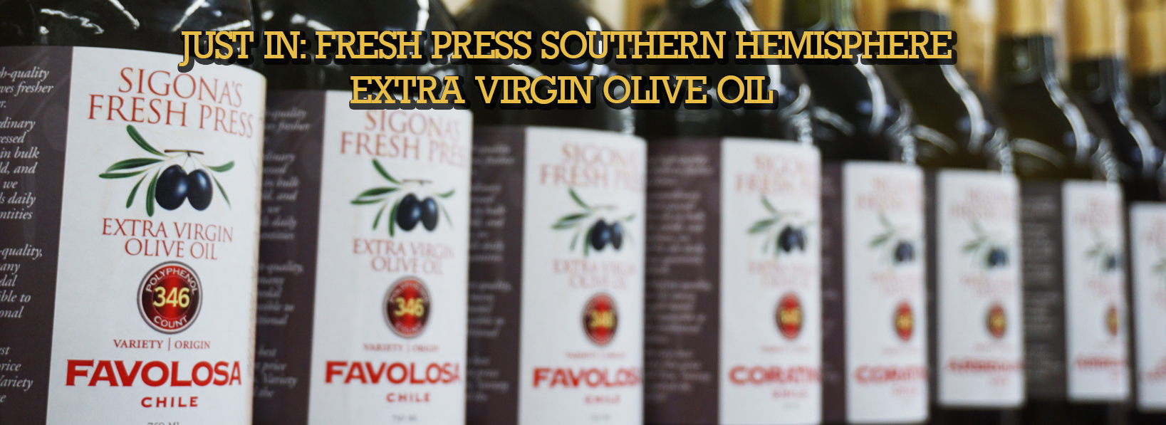 JUST IN SOUTHERN HEMISPHERE OILS