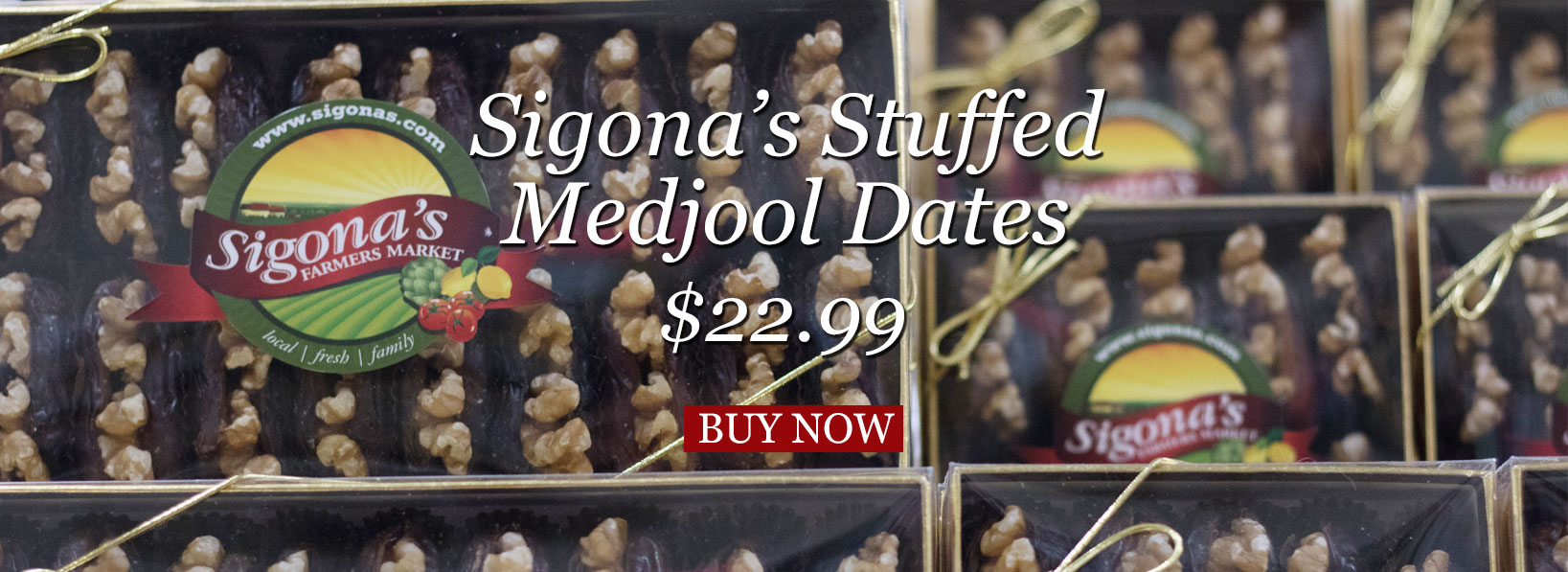Sigona's Stuffed Medjool