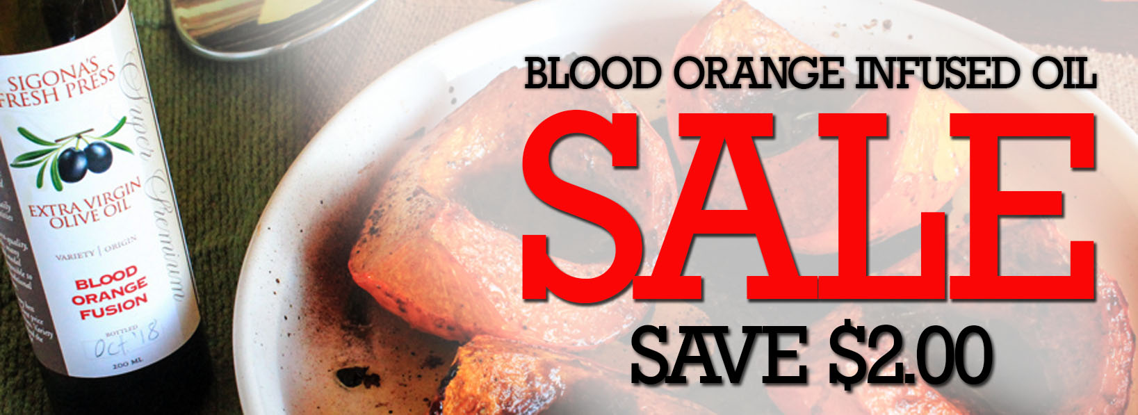 Blood Orange oil sale
