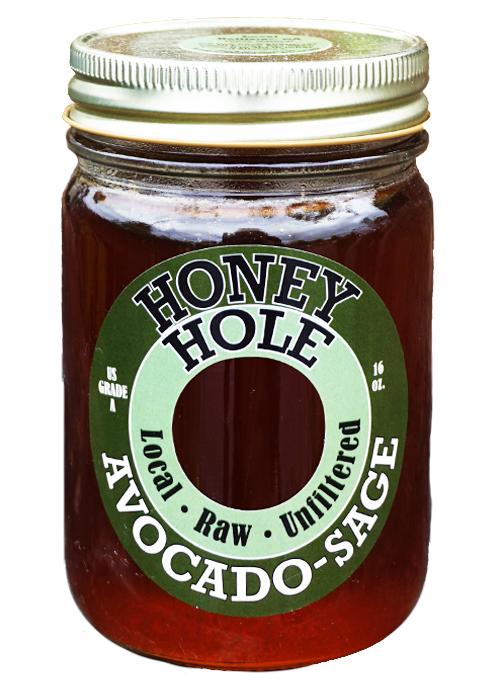 Honey Hole Avocado Sage Honey