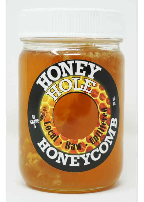 Honey Hole Honeycomb Honey