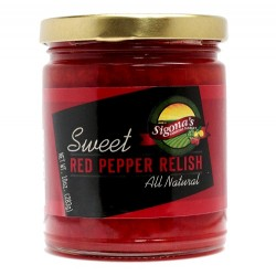 Sigona's Sweet Red Pepper Relish