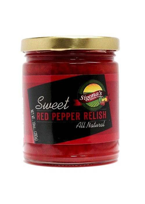 Sigona's Sweet Red Pepper Relish