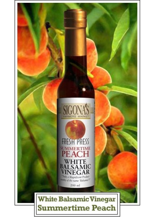Summertime Peach White